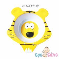 Chén cho bé tập ăn hình hổ bằng nhựa – 39 – chen tap an dam cho be