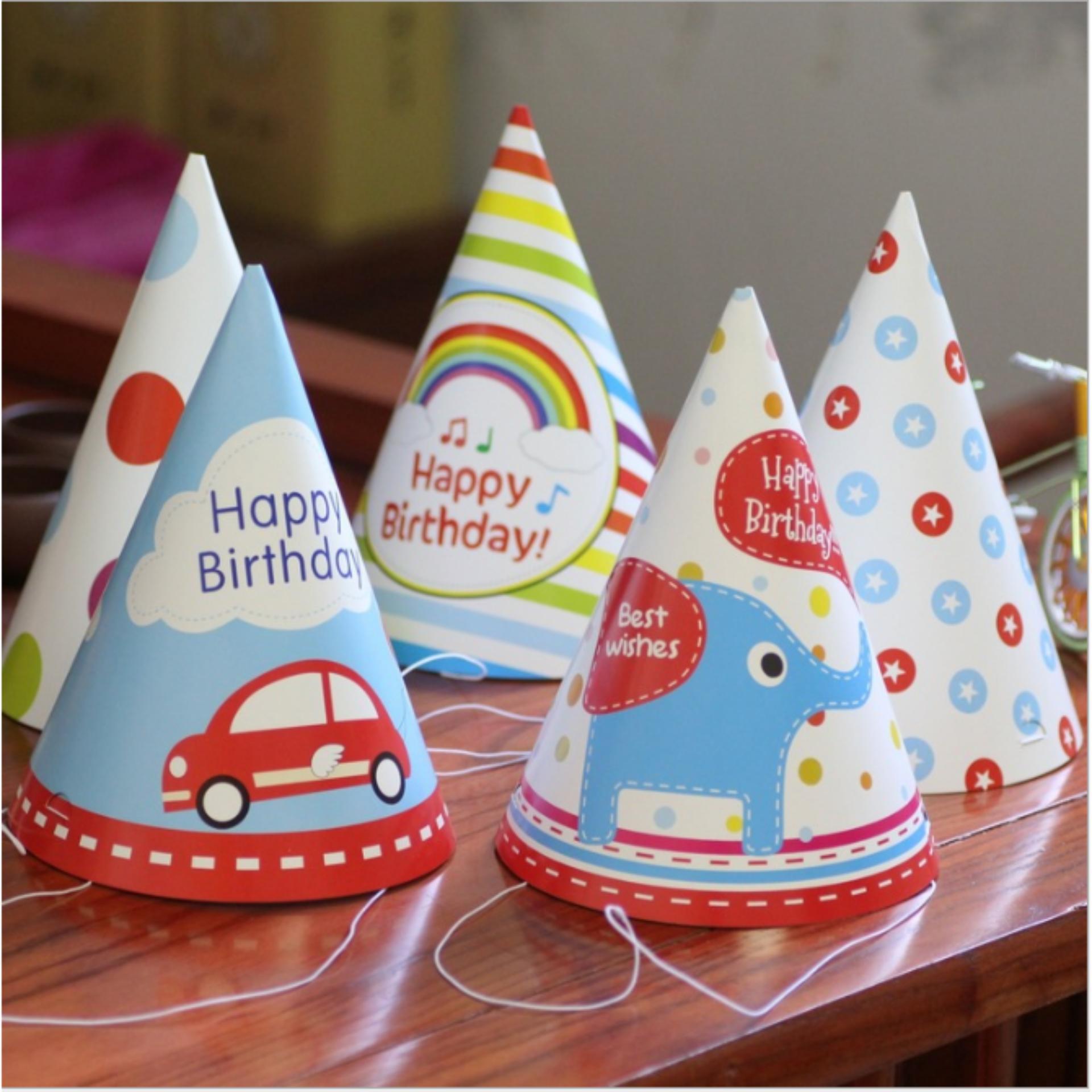 Bảng Báo Giá Combo 06 mũ sinh nhật cho bé TL-M