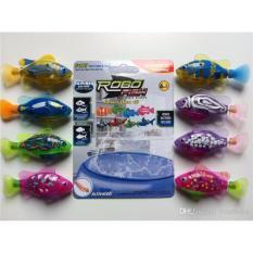 Combo 2 con cá đồ chơi lắp pin tự bơi trong nước