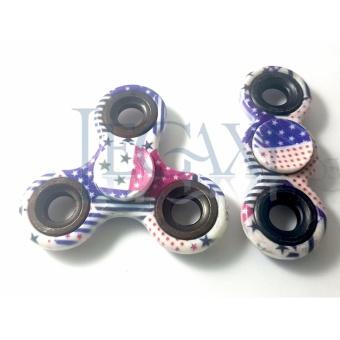 Combo 2 Con xoay Hand Fidget Spinner BẰNG SỨ 30-90 giây Legaxi HSBA