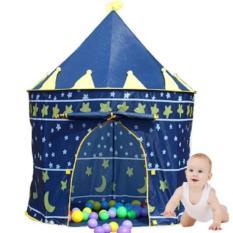 COMBO 2 Lều bóng lâu đài hoàng tử cho bé(Xanh)