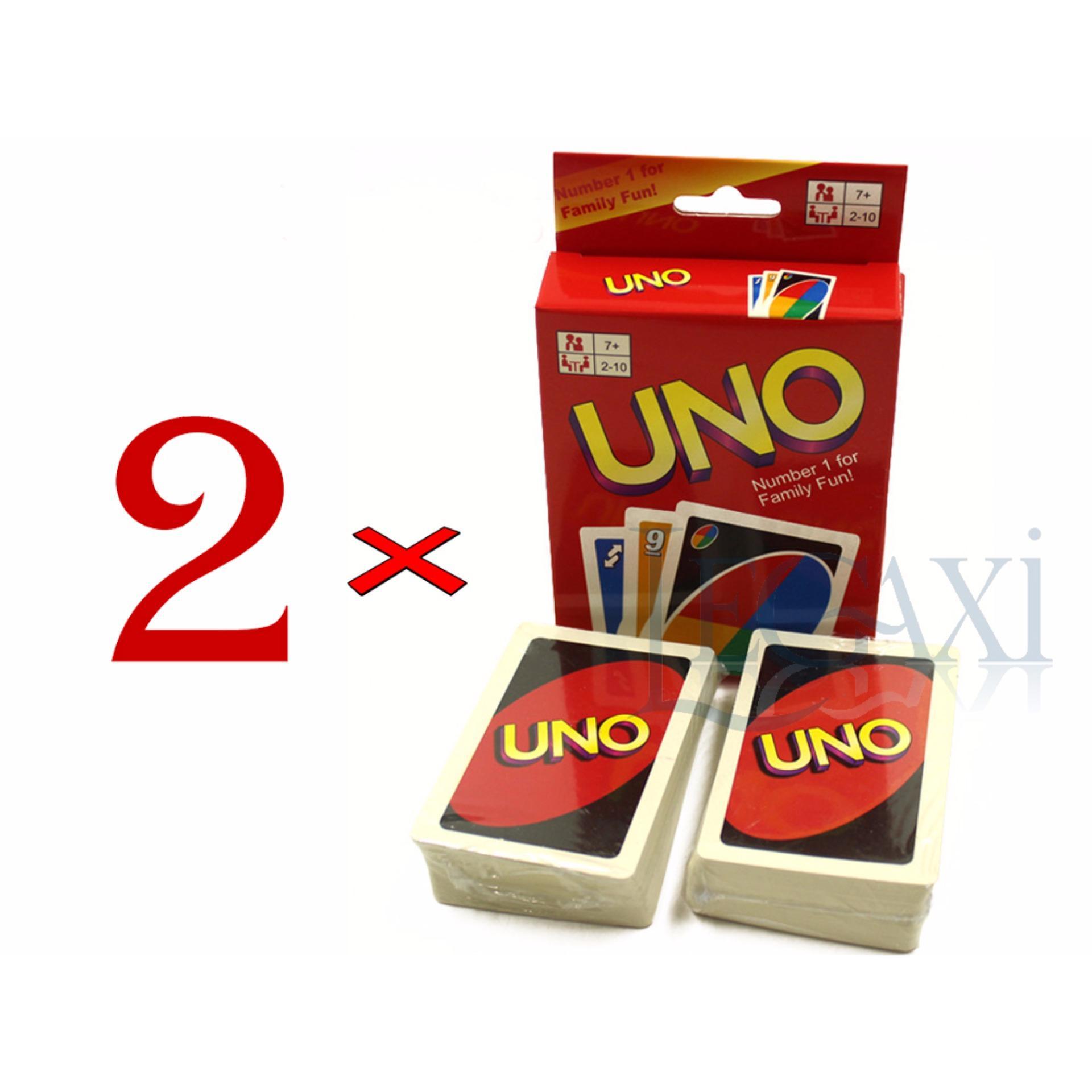 Chỗ nào bán Combo 2 x Bộ bài Uno Giấy cứng Legaxi UNO2