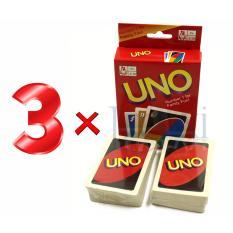 Combo 3 x Bộ bài Uno Giấy cứng Legaxi UNO5