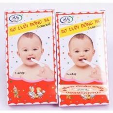 Combo 10 hộp Tưa lưỡi Đông Fa cho bé sơ sinh