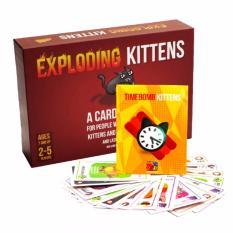 Combo Mèo Nổ Hẹn Giờ: Mèo nổ + Bản mở rộng #4 Timebomb Kittens
