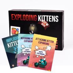 Combo Mèo Nổ Tung Thế Giới: Mèo nổ NSFW + 3 Bản mở rộng: Defeding, Attacking, Imploding