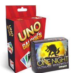 Combo Uno & Ma Sói One Night