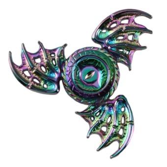 Con Quay Fidget Spinner Rainbow Mắt Rồng Thần