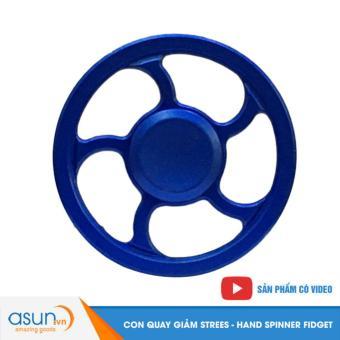 Con Quay Giảm Stress Vô Lăng Hand Spinner Xanh - Fidget Spinner