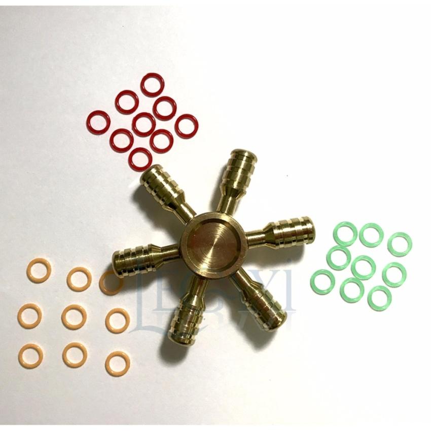 Hình ảnh sản phẩm Con Quay Hand Fidget Spinner 6 cánh 30-120 giây Legaxi