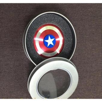 Con Quay siêu anh hùng bằng kim loại Fidget Spinner không ma sát xả stress - 3