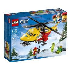 Trực Thăng Cứu Hộ LEGO CITY – 60179 (190 chi tiết)