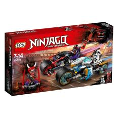 Cuộc Truy Đuổi Đường Phố Với Rắn Jaguar LEGO NINJAGO – 70639 (308 chi tiết)