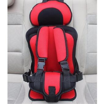 Đai an toàn cho bé, đai ghế xe hơi cao cấp (Đỏ) - 2
