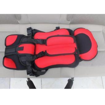 Đai an toàn cho bé, đai ghế xe hơi cao cấp (Đỏ) - 3