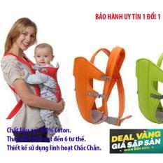 Giá Khuyến Mại Dai deo em be, Đai đeo em bé – Địu trẻ sơ sin , địu vải cho bé HD6 – Dòng sản phẩm Cao cấp.