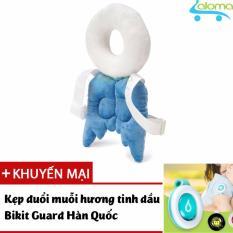 Đai đeo lưng bảo vệ đầu và lưng cho bé tập ngồi PCare PC-202 (Blue) tặng kẹp tinh dầu đuổi muỗi