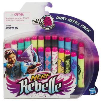 Đạn Nerf Rebelle Secrets & Spies-24 Dart Refill Pack