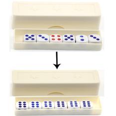 Đạo cụ ảo thuật: Với trò sắp xếp lại các viên xúc xắc
