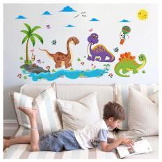Đánh Giá Decal dán tường Dinosaur Cartoon ngộ nghĩnh cho bé