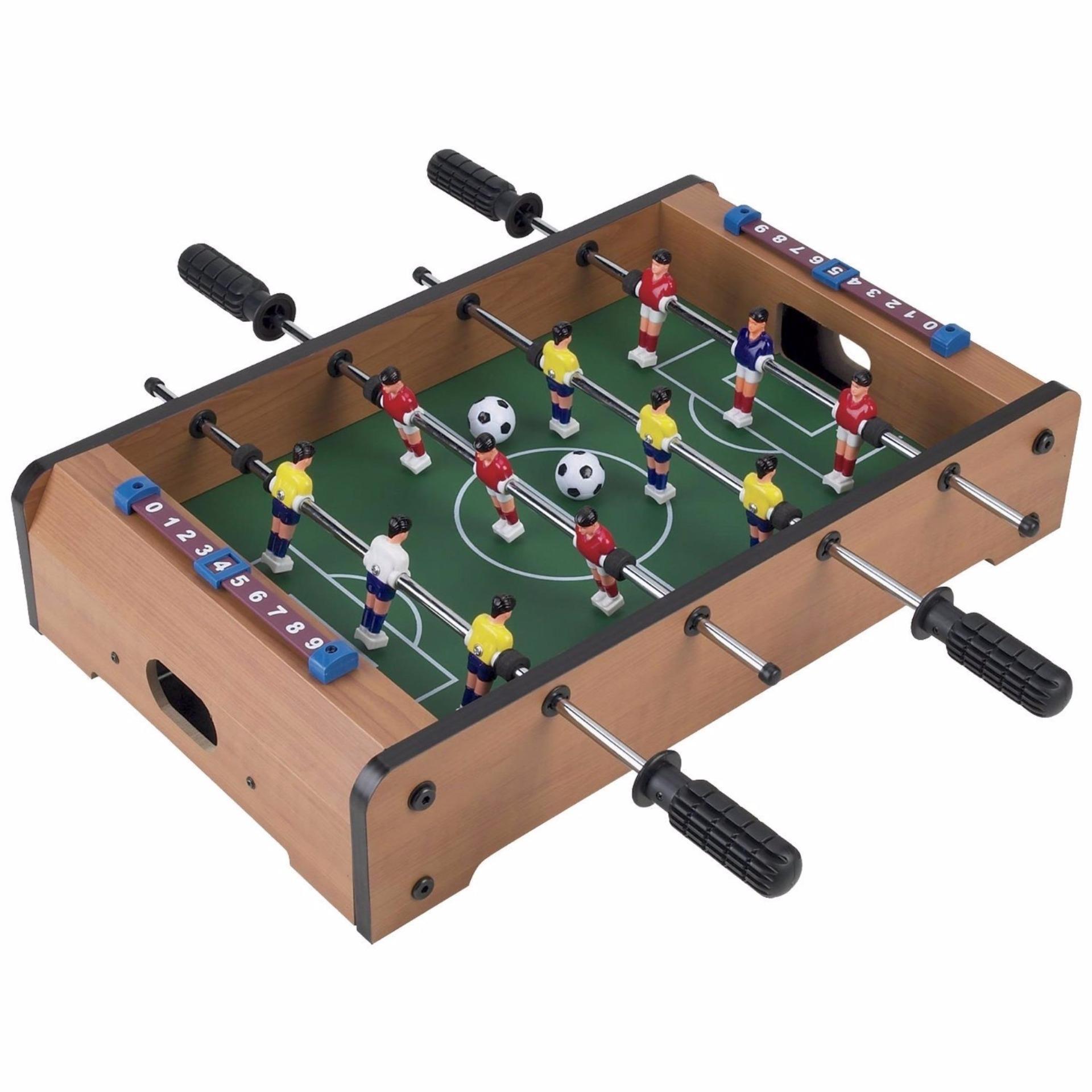 Đồ chơi bàn bi lắc bóng đá Table Top Foosball (Gỗ)