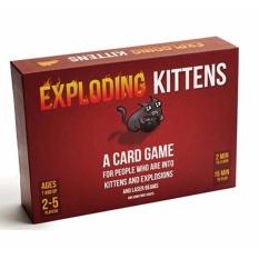 Đồ chơi Boardgame Exploding Kittens – Mèo Nổ | Best Choice