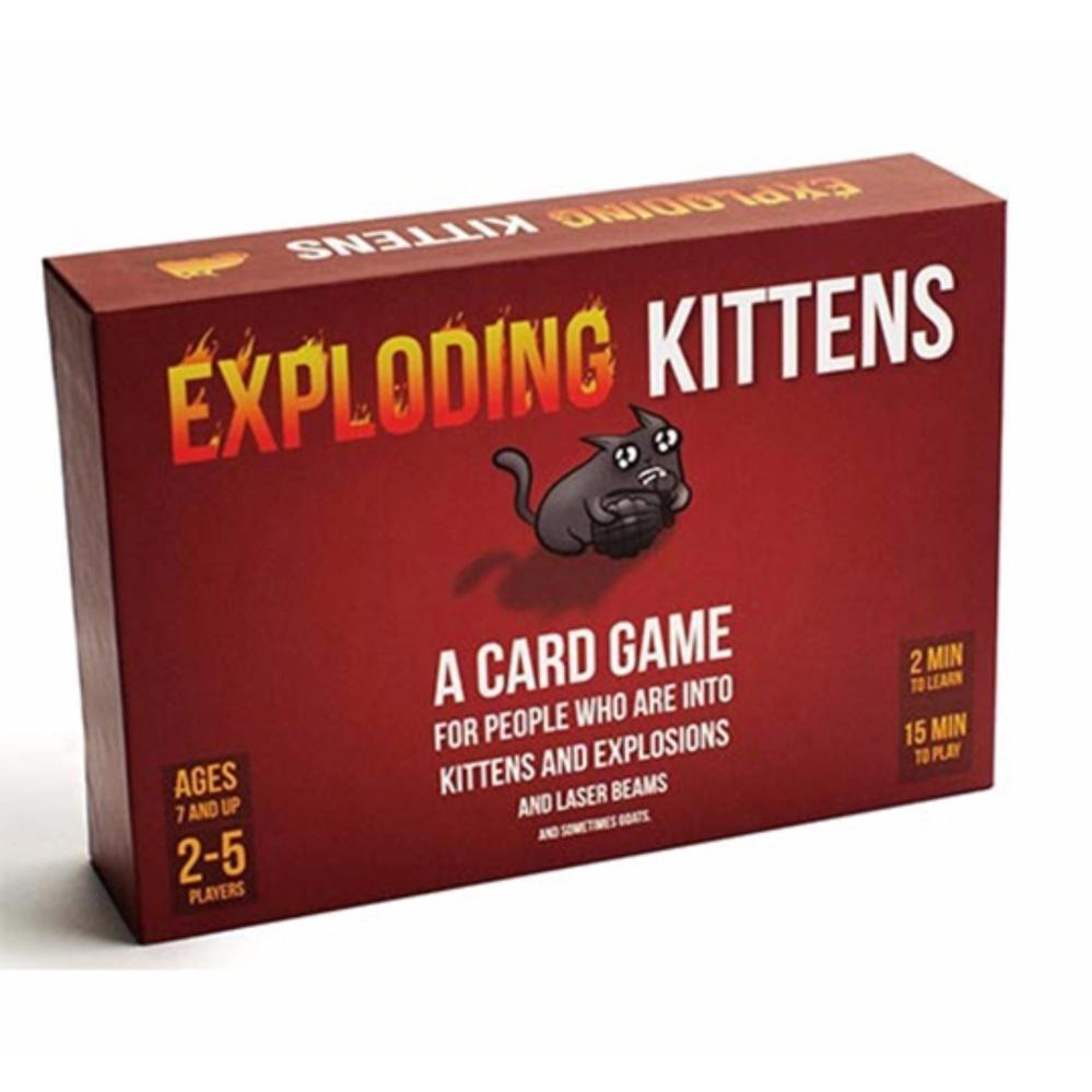 Bảng Giá Đồ chơi Boardgame Exploding Kittens – Mèo Nổ | Best Choice