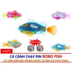 Đồ chơi cá tự bơi trong nước Robo Fish (giao màu ngẫu nhiên)