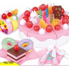 Đồ chơi cắt bánh sinh nhật 63 chi tiết