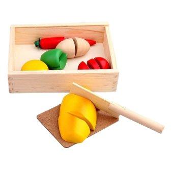 Đồ chơi cắt ghép hoa quả Mother Garden 3168