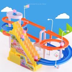 Đồ chơi cầu trượt Heo Peppa Pig (Cỡ lớn) vui nhộn kích thích sự sáng tạo giúp trẻ rèn luyện tính kiên trì, sáng tạo