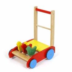 Đồ chơi cho bé Xe tập đi 3 con chim Song Son bằng gỗ