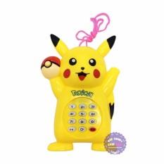 Đồ chơi điện thoại bàn cầm tay Pikachu dùng pin có nhạc