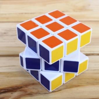 Đồ chơi hình khối Rubik 3x3x3 tặng móc khóa rubik nhỏ