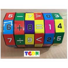 Đồ chơi khối xoay toán học vui nhộn cao cấp