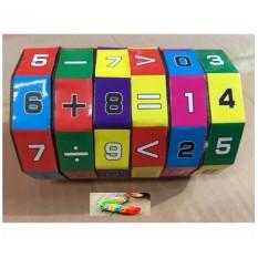 [Nhập LZDEL51 giảm 10% tối đa 200k cho đơn 99k] Đồ chơi trẻ em – Đồ chơi khối xoay toán học vui nhộn cao cấp