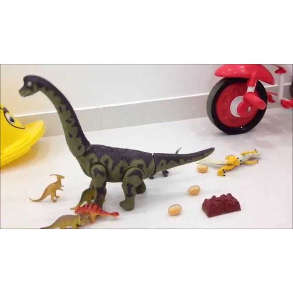 Đồ chơi khủng long vừa đi vừa đẻ trứng phát nhạc