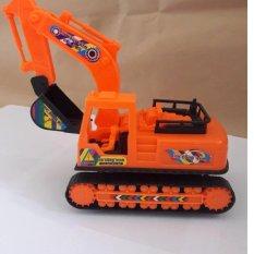 Đồ chơi mô hình xe máy xúc bánh xích 398
