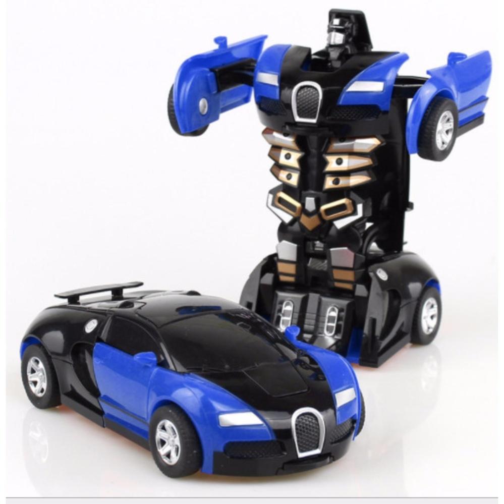 Đồ chơi Ô tô biến hình thành Robot cao cấp(màu tùy ý) – Mẫu mới 2017