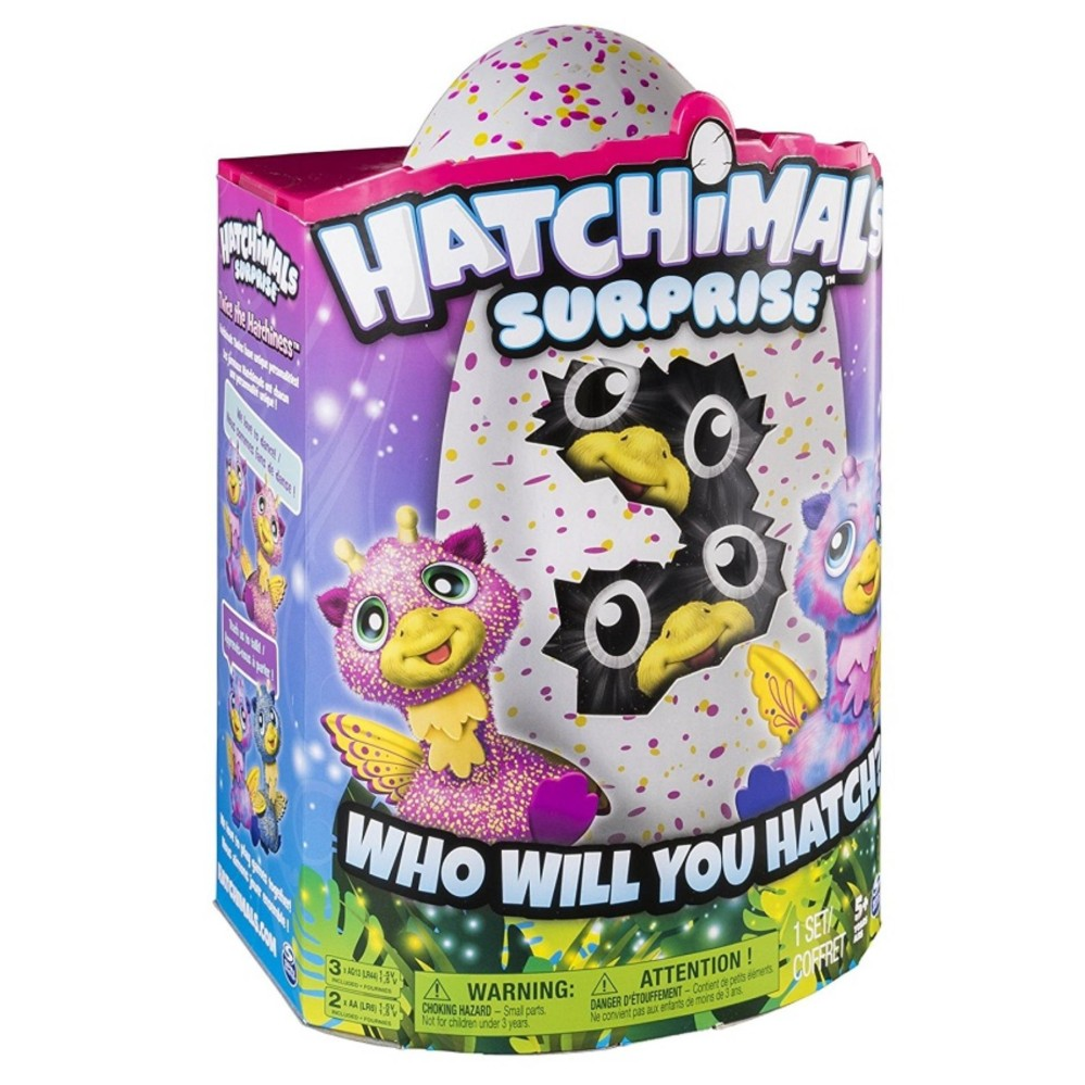 [Siêu thị Lazada] - Đồ chơi quả trứng thần kỳ Hatchimals sinh đôi Giraven 6037097