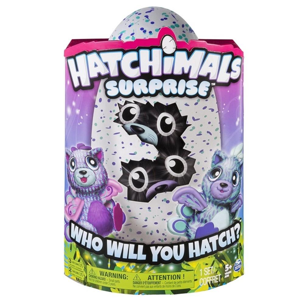 [Siêu thị Lazada] - Đồ chơi quả trứng thần kỳ Hatchimals sinh đôi Peacat 6037096