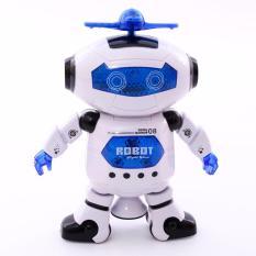 Đồ Chơi Robot Thông Minh Xoay 360 Độ Phát Nhạc
