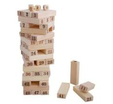 Đồ chơi rút gỗ số 48 thanh 4 xí ngầu cho trẻ em và người lớn