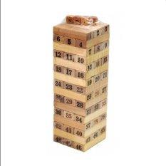 Đồ chơi rút gỗ số thông minh