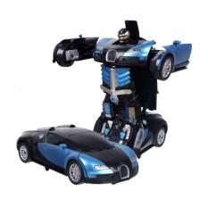 Đồ chơi trẻ em – Đồ chơi siêu xe ô tô biến hình thành Robot( màu tùy ý)