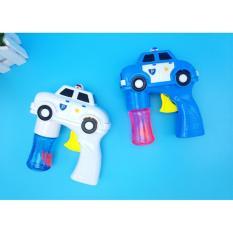 đồ chơi trẻ em súng bắn bong bóng ô tô chạy pin thông minh – NEW