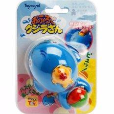 đồ chơi tắm cá voi xanh phun nước Toyroyal