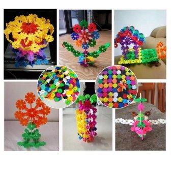 đồ chơi xếp hình hoa 400 chi tiết (3x3x0.3)