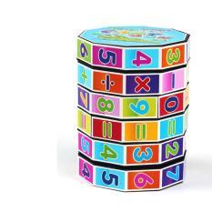 Đồ chơi xếp hình kích thích trí não rubik toán học 6 tầng cho bé – shop aichacha