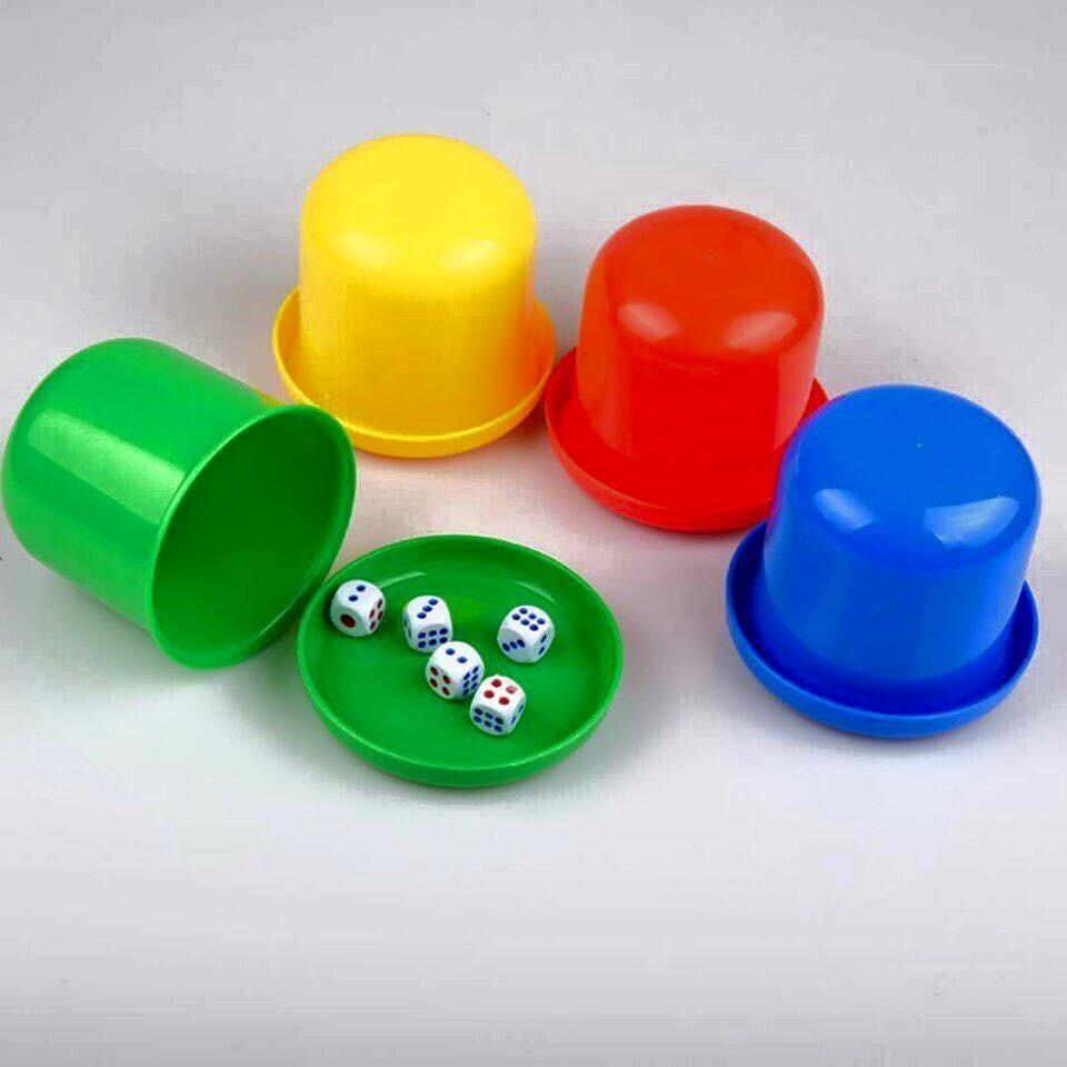 Đồ chơi xúc xắc, lắc xí ngầu (1 hộp có 5 hạt xúc xắc)